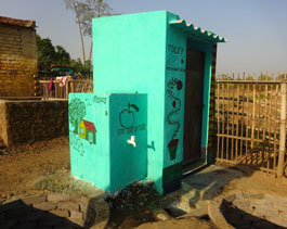 Health and Sanitation Toilet constructed by community